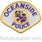 Oceanside Police Department Patch