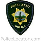 Palo Alto Police Department Patch