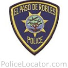 Paso Robles Police Department Patch