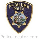 Petaluma Police Department Patch