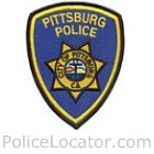 Pittsburg Police Department Patch