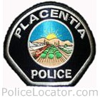 Placentia Police Department Patch