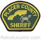 Placer County Sheriff's Department Patch