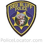 Red Bluff Police Department Patch