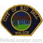 Rio Dell Police Department Patch