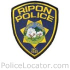 Ripon Police Department Patch