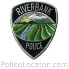 Riverbank Police Department Patch