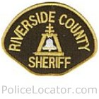 Riverside County Sheriff's Department Patch