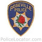 Roseville Police Department Patch