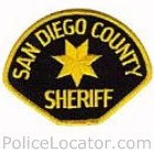 San Diego County Sheriff's Department Patch