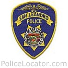 San Leandro Police Department Patch