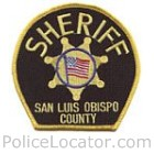 San Luis Obispo County Sheriff's Department Patch