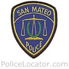 San Mateo Police Department Patch