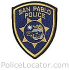 San Pablo Police Department Patch