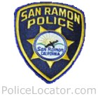 San Ramon Police Department Patch