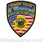 Sanger Police Department Patch