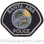 Santa Ana Police Department Patch