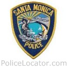 Santa Monica Police Department Patch