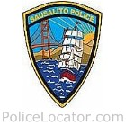 Sausalito Police Department Patch
