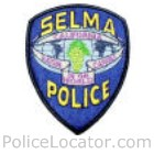 Selma Police Department Patch