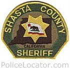Shasta County Sheriff's Office Patch
