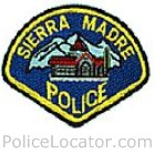 Sierra Madre Police Department Patch