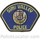 Simi Valley Police Department Patch