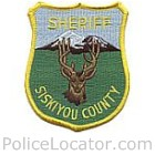 Siskiyou County Sheriff's Department Patch