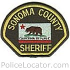 Sonoma County Sheriff's Office Patch