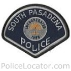 South Pasadena Police Department Patch