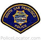 South San Francisco Police Department Patch