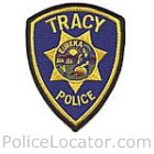 Tracy Police Department Patch