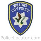 Willows Police Department Patch