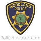Woodland Police Department Patch