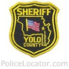 Yolo County Sheriff's Department Patch
