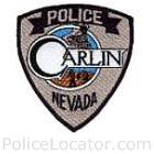 Carlin Police Department Patch