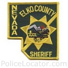 Elko County Sheriff's Department Patch