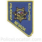 Sparks Police Department Patch
