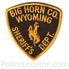 Big Horn County Sheriff's Department Patch