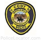 Cody Police Department Patch