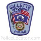 Gillette Police Department Patch