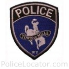 Mills Police Department Patch
