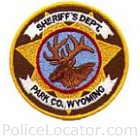 Park County Sheriff's Department Patch