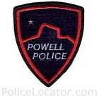 Powell Police Department Patch