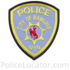 Rawlins Police Department Patch