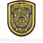 Rock Springs Police Department Patch