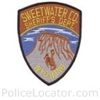 Sweetwater County Sheriff's Office Patch
