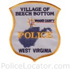 Beech Bottom Police Department Patch
