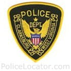 Clarksburg Police Department Patch
