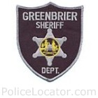 Greenbrier County Sheriff's Department Patch